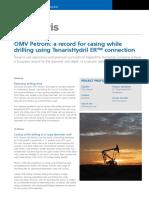 Casing While Drilling _OMV Petrom Using Tenaris