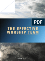 The Effective Worship Team