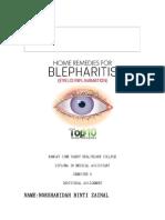 Case Study Blepharitis