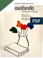 Filosofando - Maria Lucia Arruda
