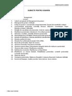 Subiecte Examen MP 2015