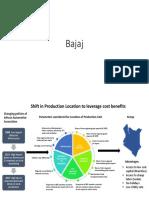 Bajaj Location Decision