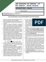 CONCURSO PROFESSOR DE INGLÊS CATEGORIA II - PREFEITURA DE CAMOCIM/CE