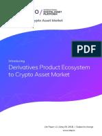 Derivatives Product Ecosystem to Crypto Asset Market - Idap