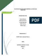 Base de Datos de Produccion de Queso