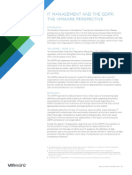 Brochure - VMWare - IT Management the GDPR