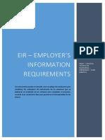 EIR - EMPLOYER´S INFORMATION REQUIREMENTS_BIM