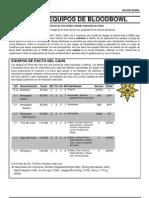 6th Ed. Equipos Nuevos y FAQ Spanish
