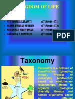 Taksonomi Kelompok Terakhir