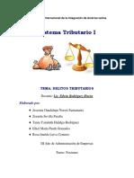 Tema. Delitos Tributarios 200813