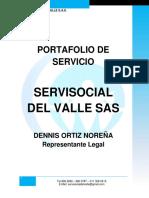Porta Folio Servisocial del Valle SAS