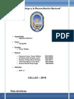 Informe de Medida Perimetrica de Ing. Mecanica