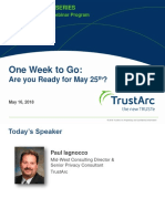 GDPR Compliance Privacy Insight Webinar | TrustArc