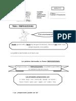 CONTENIDOS 05, preposiciones