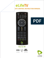 Remote Control User Manual En