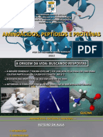 Aula 3 - Bioquímica - Medicina UFAC 2018.1 - Aminoácidos, Peptídeos e Proteínas (1)