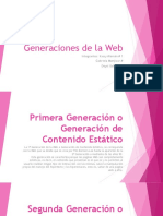 Generaciones de La Web1 34