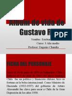 Álbum de Vida de Gustavo Ross de Esteban Raport