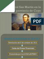 EL General San Martín en La Provincia De Mendoza