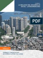 Modulo 1 - Pobreza y Desigualdad en America Latina