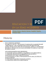 Educacion y religion en la edad media