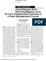 2003-Developing Dialogue Skill-A Qualitative Investigation of an on-line ...