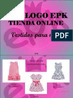 EPK - Catálogo EPK, Tienda Online, Vestidos Para Niña