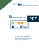 11 Recta Real y Metodo de Gauss Con Google Docs y Slideshare