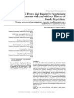 Stressful Events and Executive Functioning in Adolescents with and without History of Grade Repetition
