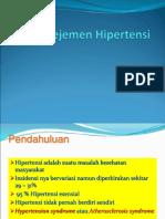 manajemen hipertensi