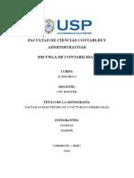 Monografia Facturas Electronicas y Facturas Comerciales