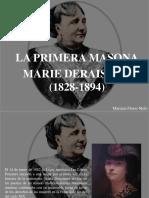 Mariana Flores Melo - La Primera Masona, Marie Deraismes, (1828 - 1894)