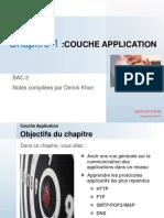 TCP/IP COUCHE APPLICATION PARTIE 1