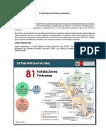 El Sistema Portuario Nacional