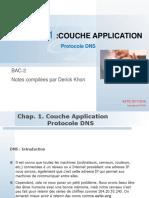 TCP/IP COUCHE APPLICATION - PROTOCOLE DNS