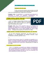 Colaboração Premiada Na Legislação Brasileira