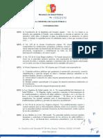A.M. 00002393. Reglamento Para El Funcionamiento de Los Laboratorios Clínicos (2012)