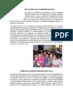 Diversidad Cultural en La Comunidad Escolar