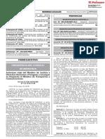 RS 122-2018-PCM - Autorizan Viaje Del Ministro de Justicia y Derechos Humanos a Paraguay y Encargan Su Despacho Al Ministro de Transportes y Comunicaciones