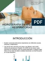 Hidro en Afecciones Respiratorias