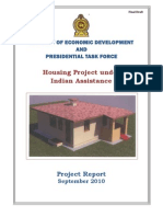 Final Draft of Project Report on Housing Project under Indian Assistant