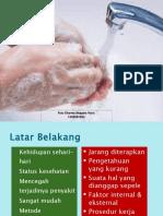 Kepatuhan Mencuci Tangan Di Lingkungan Rumah Sakit
