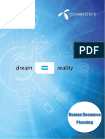 HRM Plan of GrameenPhone