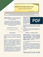 Boletin Jurisprudencial 2018-05-30