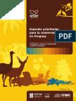 Especies Prioritarias para la Conservación en Uruguay