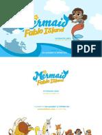 "Preschool Series Proposal for - ""The Mermaid of Fable Island"" by Tom Bancroft & Stephen Fox"