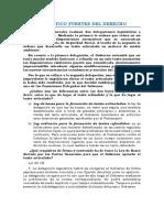 Tema 1 - Fuentes Del Derecho