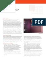 Ubuntu on ARM Datasheet