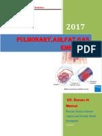 Pulmonary Air Embolism