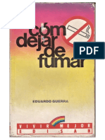 Como Dejar de Fumar - Eduardo Guerra